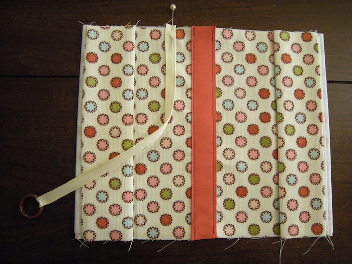 Cloth Book Cover Pattern : Fabric book cover tutorial a case of the crafties