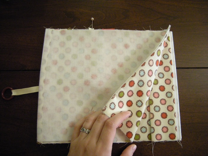 Fabric Cover For Book : Fabric book cover tutorial a case of the crafties
