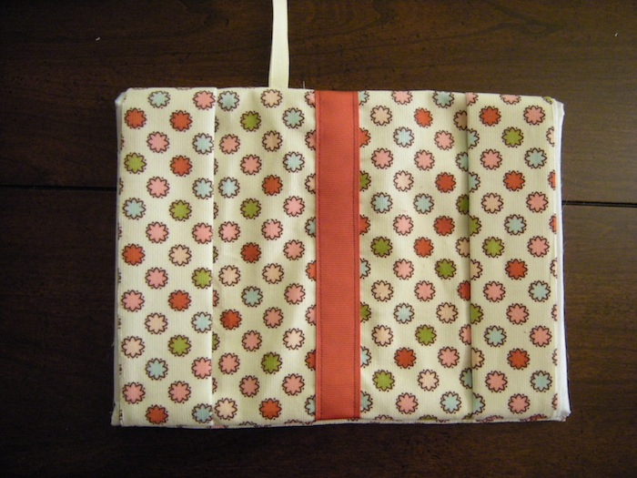 Simple Fabric Book Cover Tutorial ~ Fabric book cover tutorial a case of the crafties