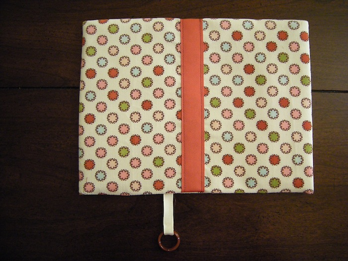 Fabric Book Cover tutorial tutorial