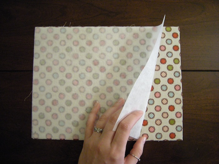 Fabric Book Cover tutorial