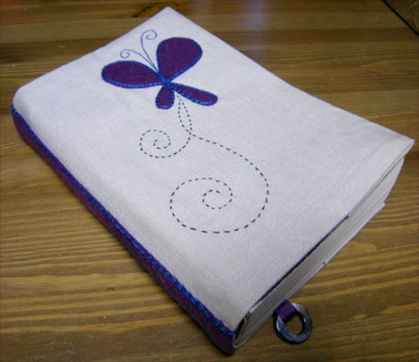 """<a href=""""/2010/08/24/crafting/"""">Butterfly Book Cover</a>"""