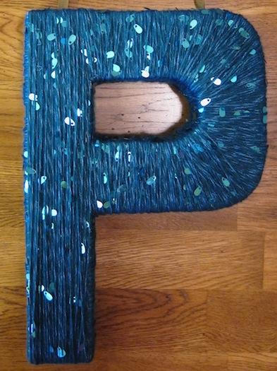 cardboard_letter_P_wreath18