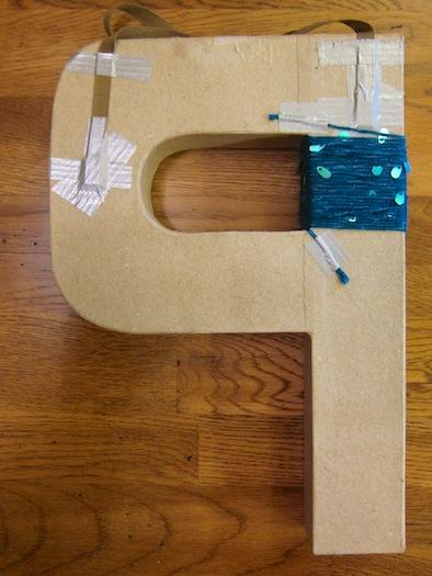 cardboard_letter_P_wreath3