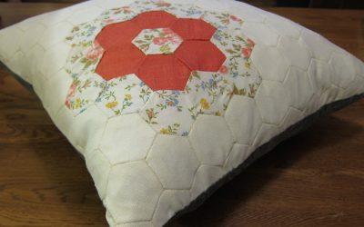 Hexagon pillow case