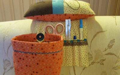 weighted pincushion organizer