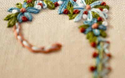 Corbet's Stitch Sampler: W