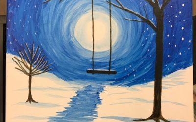 Acrylic paint workshop