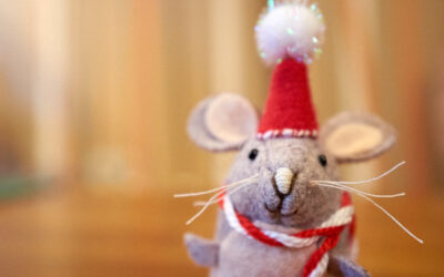 Very Nice Mouse Ornament