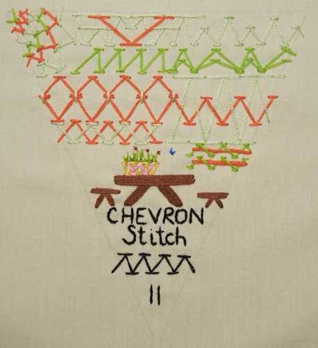 TAST: chevron stitch