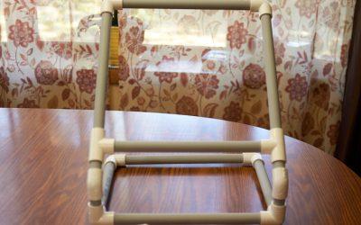 Shawkl's PVC Quilt Hoop