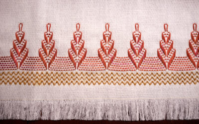 Swedish Huck Weaving