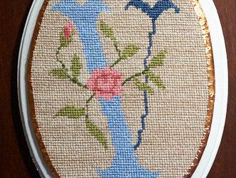 Needlepoint: Rosalie V