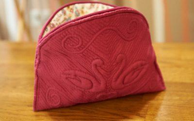 Swan boutis bag