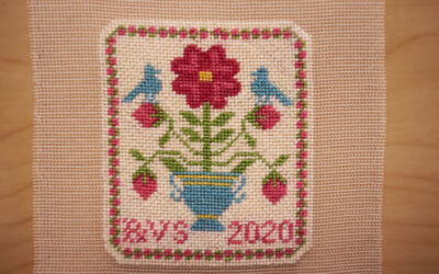 Silk Gauze Rose Sampler