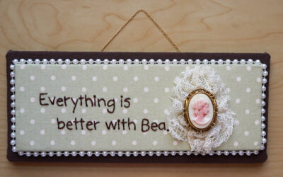 Everything is better …