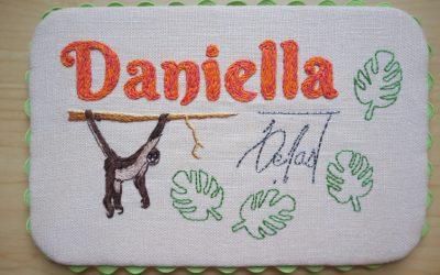 Nameplate: Daniella